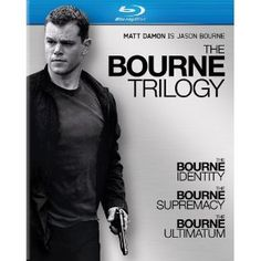 The Bourne Identity (2002), The Bourne Supremacy (2004), The Bourne Ultimatum (2007) - Series of action/thriller spy films about a former CIA assassin suffering from extreme memory loss. ♥♥♥