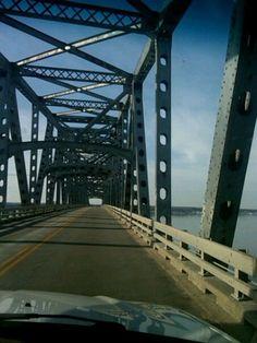 on top ~ Rappahannock River Bridge