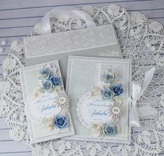 Moja papierowa kraina: komunia Hobbies And Crafts, Diy And Crafts, Paper Crafts, Shabby Chic Cards, Scrapbook, Heartfelt Creations, Card Tags, Handmade Decorations, Deck Of Cards