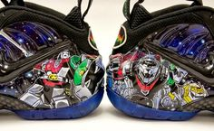 98c959a8a7e Smooth Tip Productions went above and somewhere beyond this universe with  this sick Nike Air Foamposite Pro Voltron custom.