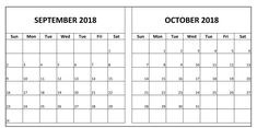 september and october 2018 calendar word excel pdf page november 2018 calendar printable editable pdf word page excel blank templates holidays