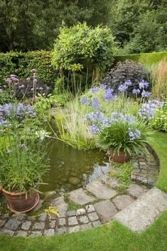 A pond supplies an exciting addition to any garden, even just a small one. A pond isn't something which is simple to move if, in a couple of years, you don't like its location. Including a little pond doesn't need… Continue Reading → Pond Landscaping, Ponds Backyard, Backyard Ideas, Garden Pond Design, Unique Garden, Building A Pond, Landscape Lighting Design, Diy Pond, Small Ponds