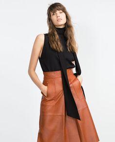 Imagem 3 de SAIA PELE da Zara