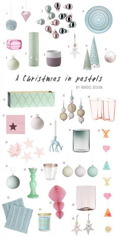 Christmas in Pastels - NordicDesign