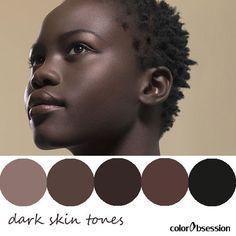 dark skin tones #make_up #makeup #dark_skin