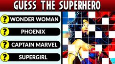 Guess the Superhero - Marvel vs DC Superhero. How well do you know the heroes from the Marvel and DC universes? Superhero Quiz, Marvel Vs, Dc Universe, Did You Know, Entertaining, Youtube, Funny, Youtubers, Entertainment