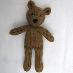 hand knit bear