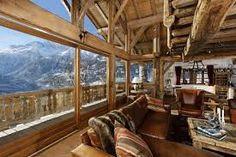 refurbished alpine chalet -
