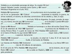 Pretérito indefinido con Mafalda