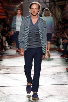Missoni Spring 2015 Menswear Fashion Show