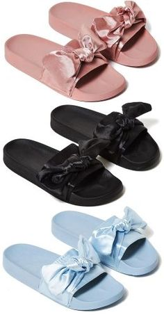 1672232f0eb1 Bilderesultat for fenty by puma bow slippers