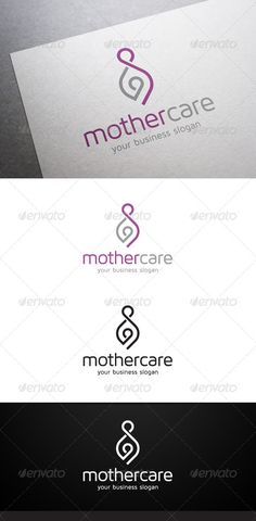 Mother Care Logo - Humans Logo Templates