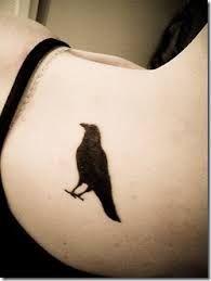 Resultado de imagen para tatuajes de cuervos