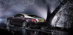 Rolls-Royce Wraith.  Love the drama - Car & Scenery!