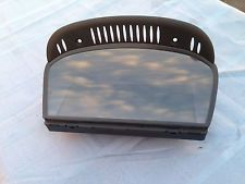 BMW E63 650I 645I M6 WIDE SCREEN CCC NAVIGATION MONITOR 8.8 ALPINE TESTED OEM