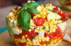 Recette : Salade de maïs.