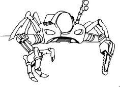 roboter ausmalbild – Ausmalbilder für kinder