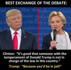 """""""Because you would be in jail."""" Hell yeah that's what needed to be said."""