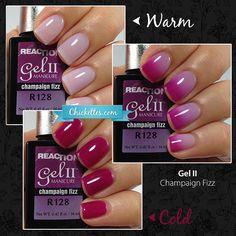 Gel II Champaign Fizz - Reaction Gel - Color Changing Mood Gel Polish
