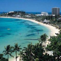New Caledonian beach, Spain