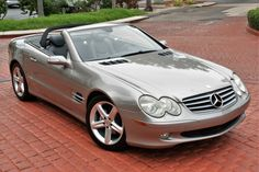 Bid for the chance to own a No Reserve: 2005 Mercedes-Benz at auction with Bring a Trailer, the home of the best vintage and classic cars online. Mercedes Sl500, Mercedes Benz, Brake Pads And Rotors, New Drive, Leak Repair, Car Cleaning Hacks, New Engine, New Tyres, Brake Calipers