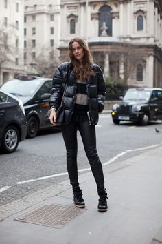 Long black down jacket | yurong | Pinterest | Down jackets, Long ...