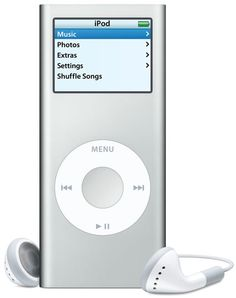 My first contact with Apple - iPod Nano 2nd Generation