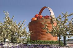 What's more #Frazy than @FallonTonight? The World's Largest Apple Basket in Frazeysburg, OH!