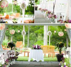 Hochzeit Deko Ideen Blumen Metall Eimer
