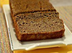 Cocoa Banana Berry Flax Bread
