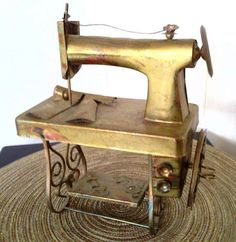 Vintage HTC Handcrafted Sewing Machine Music Player by cappelloscreations, $27.00@Etsy