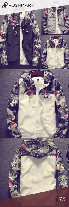 a5103f7f8 Qing Yuan Shui @ Leisure Floral Hooded Jacket Zip into the Qing Yuan Shui @  Floral