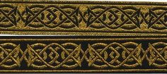 Celtic Saxon Knotwork Reversible Jacquard by PillagedVillage