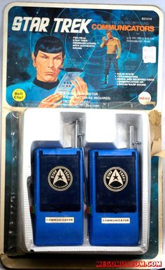 Accessory Links Communicators Command Console Phaser Target Telescreen Console Tricorder Trekulator The Mego Star Trek line pro. 1960s Toys, Retro Toys, Vintage Toys, 1970s, Star Trek Original Series, Star Trek Series, Star Trek 8, Star Trek Toys, Childhood Toys