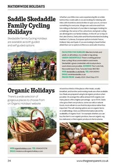 The Green Parent Family Holiday Guide 2015 Edition