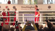 Pressetraining Klitschko vs. Pulev, Shannon Briggs sorgt für Aussehen, Doping-Vorwürfe gegen Klitschko.