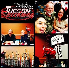 We had the honor to be invited to Tucson Speedway's 2013-1014 Awards. Thank you!