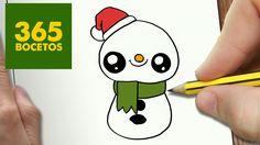 15 Mejores Imagenes De Dibujos De Navidad Kawaii Drawings How To