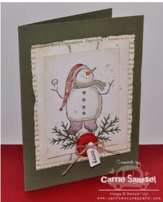 Snow Much Fun- Take 2 by csampsel - Cards and Paper Crafts at Splitcoaststampers