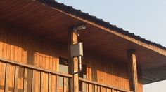 Outdoor wireless monitoring installation.