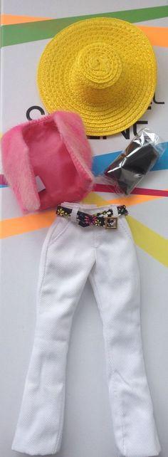 Fashion Royalty Poppy Parker Hippie Partial Outfit Pants/Hat/Stockings/Vest in Spielzeug, Puppen & Zubehör, Mode-, Spielpuppen & Zubehör | eBay
