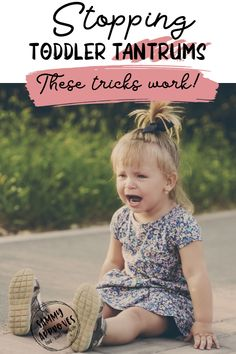 TODDLER TEMPER TANTRUMS CAN CAUSE ANXIETY IN THE BEST MOMS. I've been there at grocery stores, school events, theme parks, and weddings. If your toddler is going to start a tantrum then chances are they don't care where you are when it happens. Toddlers know just how to throw a fit and it's usually up to mom to figure out how to stop it.