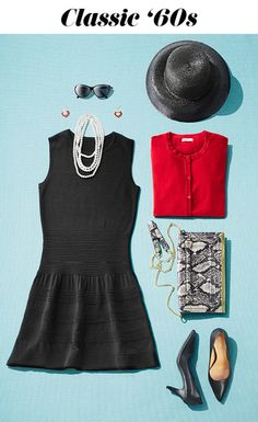 A Halloween costume you'll want to work into your wardrobe! Do '60s retro the fancy way with pearls, pumps, a clutch and this LBD you'll wear again and again. Don't forget the oversize sunglasses—so perfect for that Breakfast at Tiffany's vibe.