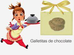 Recetas-Muy variadas-Fáciles-Económicas: Galletitas de chocolate