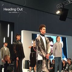 Our models looking absolutely phenomenal at Main Stage @HairExpo during the @caterinadibiase and @thehairbender's presentation of Heading Out Hair & Beauty's FUSION & The CRUDA FIGURA collections.  Photo Credit: Stella Park  #hairexpo2016 #hairexpo #ahfaaustralianhairdresseroftheyear #headingoutacademy #hohb_aus #caterinadibiase #melbournehairdresser #avantgardehair #hairart #hairinspiration #saloneducation #fusion #theCrudaFigura