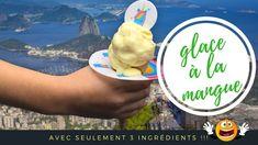 Homemade mango ice cream with Florensuc's dripping stopper Collerette© Brazilian Cuisine, Ice Cream Sandwiches, Mango