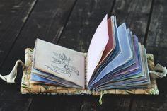 Василий аромат мягкий ноутбук с травами текстильной Эко по MashaRazner