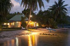 Beach Villa Cook - Moorea Vacation Rental - Robinson's Cove Villas