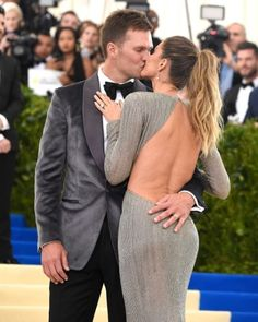 Tom Brady and Gisele Pile on the PDA at the Met Gala