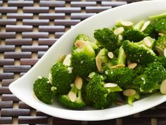 Better Broccoli (with Garlic, Ginger & Toasted Almonds) - Above & Beyond